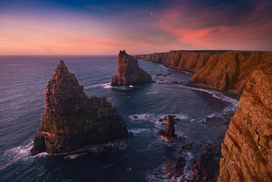 Stacks of Duncansby; Scotland