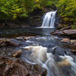 Waterfall Falls of Falloch, Loch Lomond and The Trossachs National Park