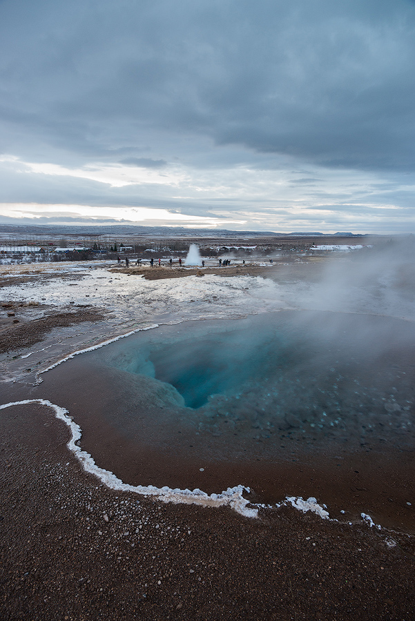 Gorące źródło Blesi, Islandia