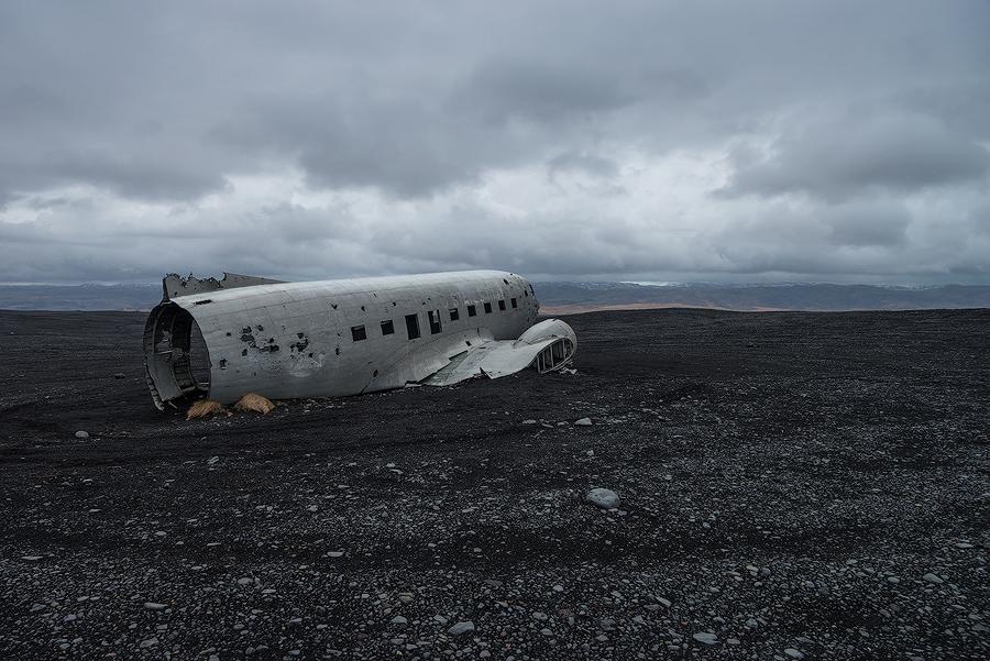 Wrak samolotu Douglas Super DC-3 Islandia