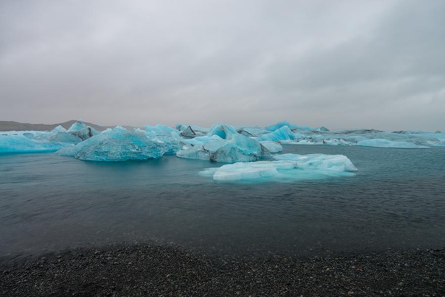 Laguna lodowcowa Jokulsarlon, Islandia