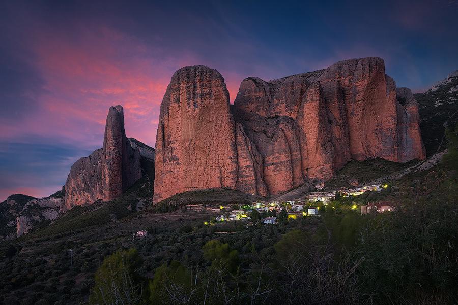 Mallos de Riglos; Hiszpania
